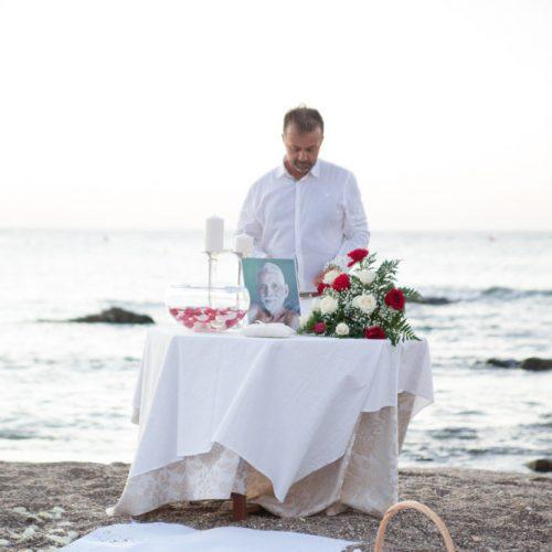 Maestro Ceremonia civil Marbella al amanecer, wedding minister Spanish English Marbella, Celebrant anglais, français, espagnol, allemand F12