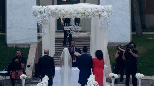 Borgerlig ceremoni på Hotel Villapadierna, Marbella, på engelska och portugisiska F04, Blessing engelska portugisiska spanska franska italienska, tyska