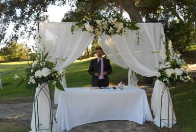 Ceremonia civil La Almoraima Wedding minister Marbella · English and Spanish