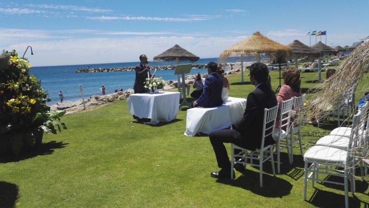 Ceremonia boda civil en Sotogrande, Cádiz blessing ceremony ceremonie civile symbolique F0105