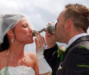 ritual de la copa ritual aleman