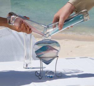 Песчаный ритуал, Песчаная церемония