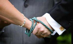 Ritual de los lazos o manos unidas