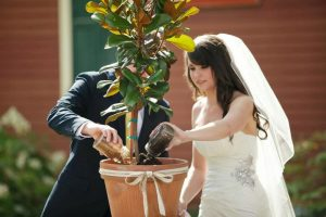 Ritual del arbol, ceremonia del arbol bodas