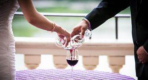 Ritual del vino en las ceremonias de bodas