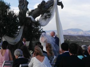 Церемония благословения в Ла-Джойя Агуа Амарга Альмерия F01