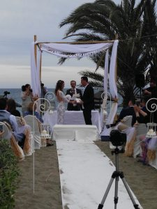 Blessing ceremony in English Spanish French Bodas Civiles Oficiant Celebrante Celebrant Hotel Guadalpin Marbella F03