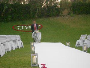 Boda civil ceremonia blessing Guadalmina Restaurante Marbella English Spanish French German F0
