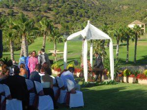 Oficiante Celebrante Boda Ceremonia Civil en hotel Alhaurín Golf Español e Inglés F03