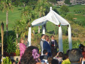 Oficiante Celebrante Boda Ceremonia Civil en hotel Alhaurín Golf Español e Inglés F04
