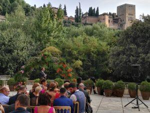 Palacio de los Cordova La Alhambra Boda civil Blessing ceremony Mariage ceremonie français anglais frances español ingles aleman german dutch Granada (F02