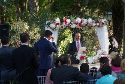 Cérémonie de mariage laïque à Malaga