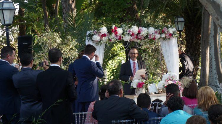 Välsignelse ceremoni Malaga