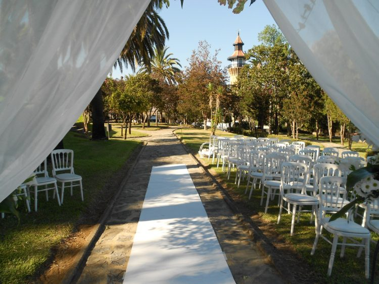 Civil ceremoni på Hotel Monasterio de la Almoraima F01 välsignelse ceremoni engelska spanska franska