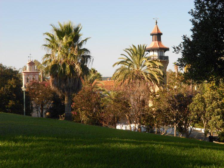 Exteriör Hotel Monasterio la Almoraima välsignelse ceremoni engelska spanska franska