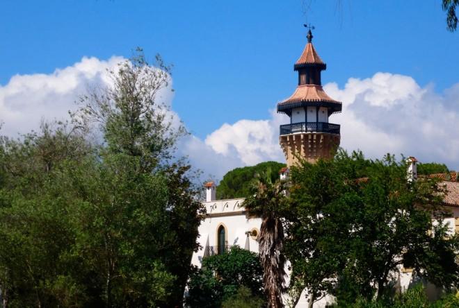 Exteriör Hotel Monasterio la Almoraima