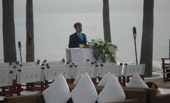 Officiella civila bröllop Tarifa välsignelse ceremoni engelska spanska franska