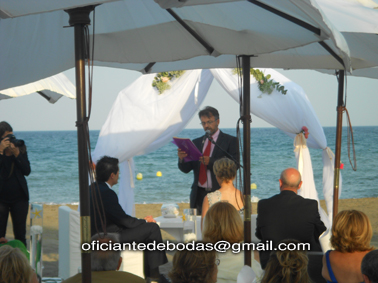 Oficiante boda Boda Estepona 011 blessing ceremony English Spanish French