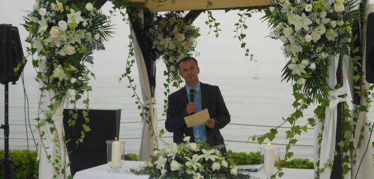 Officiant cérémonies Almeria välsignelse ceremoni engelska spanska franska