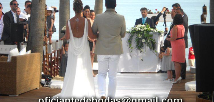 Officiant cérémonies Marbella välsignelse ceremoni engelska spanska franska