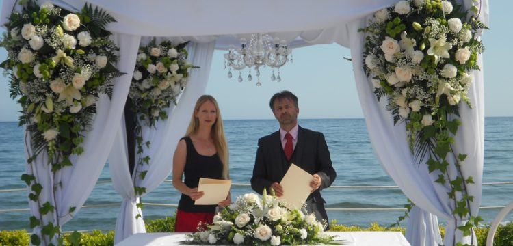 Celebrant Cérémonies Marbella välsignelse ceremoni engelska spanska franska