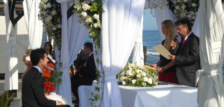 Celebrant Cérémonies Cádiz välsignningsceremoni Engelska Spanska Franska