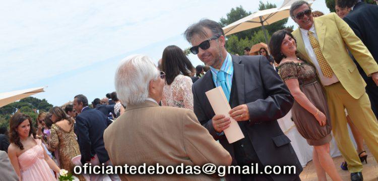 Celebrant Cérémonies Tarifa välsignelse ceremoni engelska spanska franska