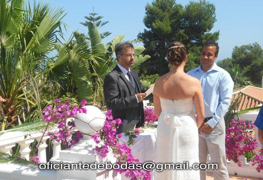 Officiant cérémonies Malaga