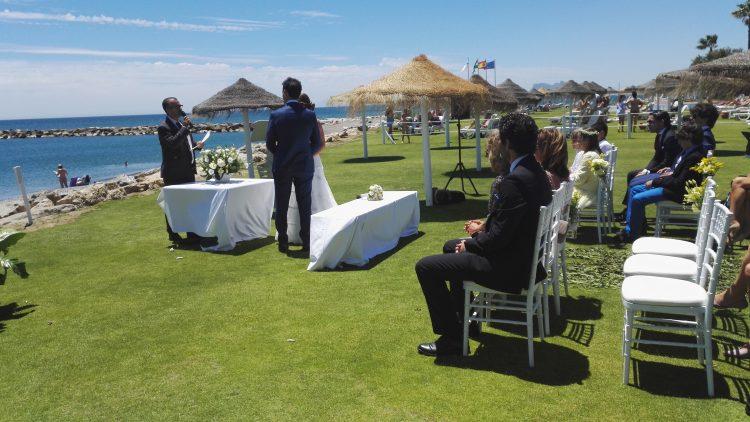 Ceremonia boda civil en Sotogrande, Cádiz blessing ceremony ceremonie civile symbolique F0103