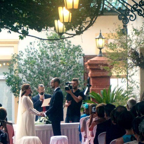 Maestro de bodas y ceremonias Málaga Señorío de Lepanto